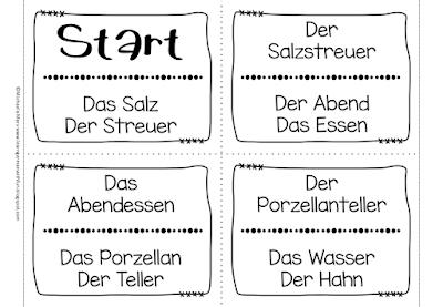 Zusammengesetzte Namenwörter spielerisch mit deisem Lesespiel üben