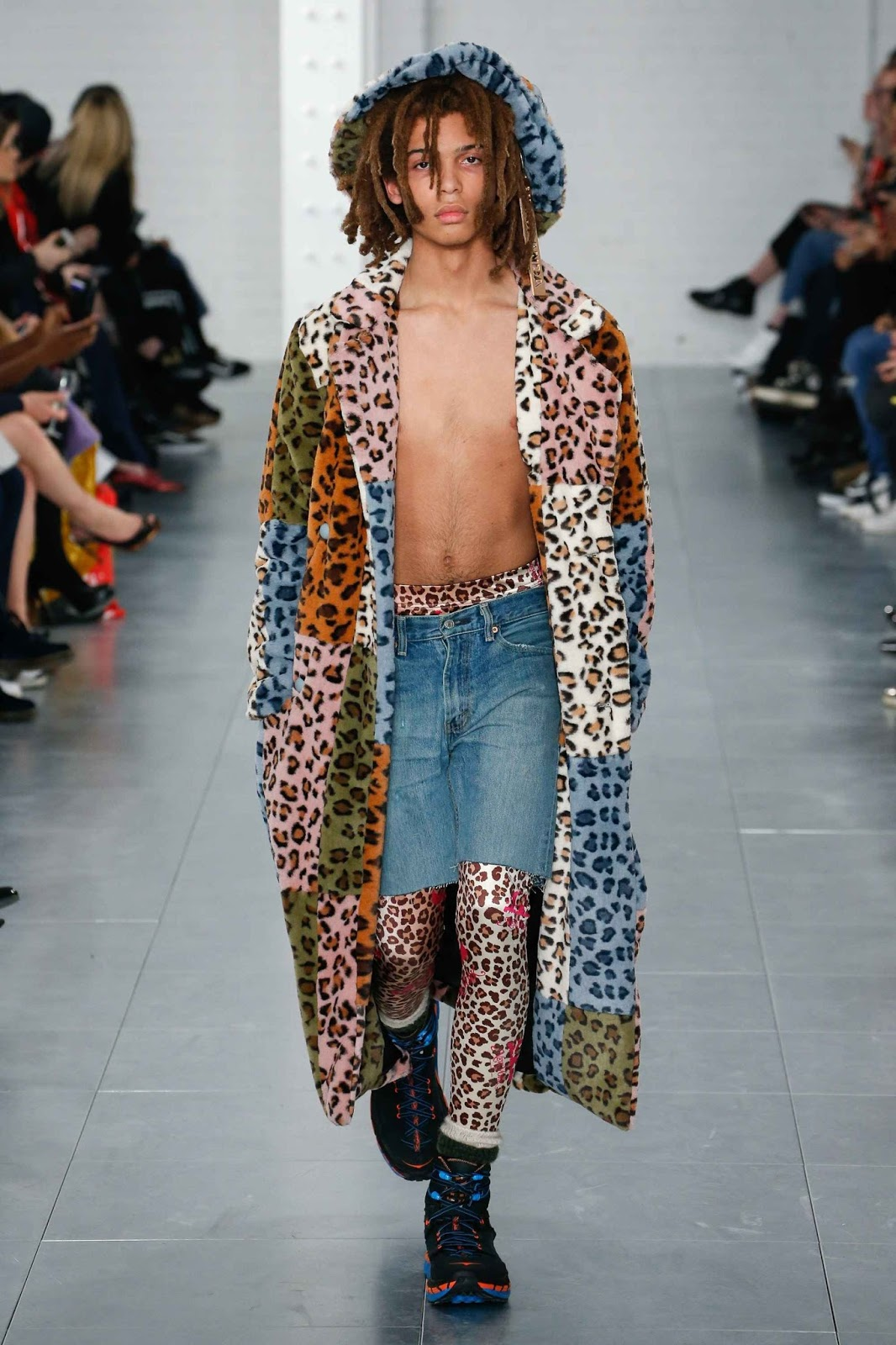 Nicopanda Fall Winter 2018 London Fashion Week Male