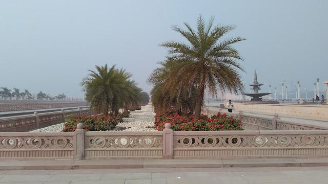 lawn in ambedkar park