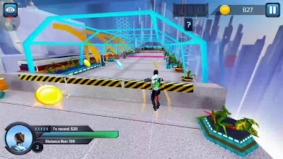 RunBot - Rush Runner v2.9.3 Mod Apk Unlimited Battery Cells