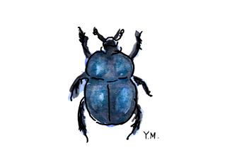 Beetle by Yukié Matsushita
