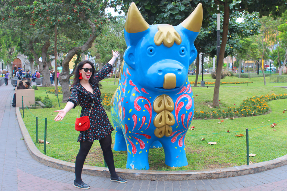 Pucara bull in Lima Peru - travel blog