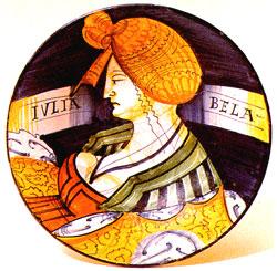 Maiolica piatto