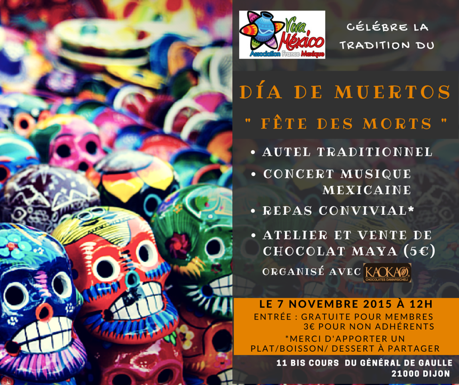 tradition mexicaine fête des morts