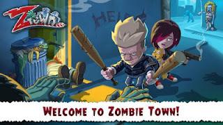 Game Zombie Town Story Apk v0.9.8 Mod Money