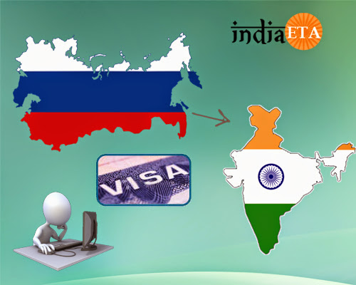 Russia to India visa processing made easy and simpler through online applications!