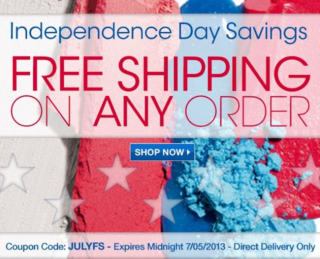 Avon 4th of July Free Shipping 2013|America Loves Avon