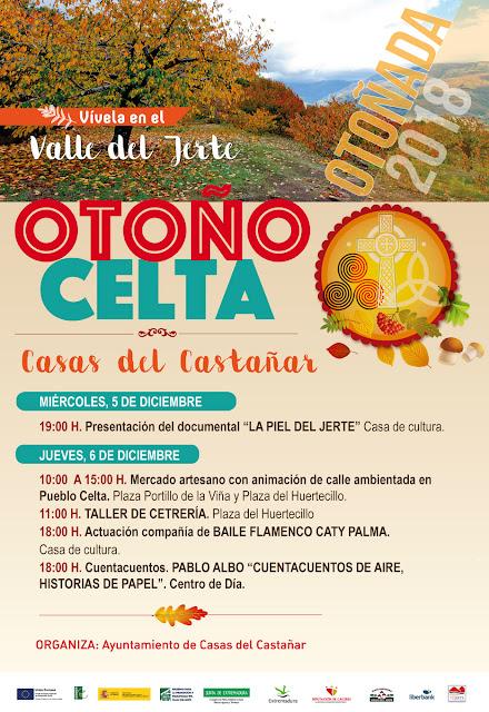 Otoño Celta. 6 de diciembre en Casas del Castañar (Otoñada 2018)