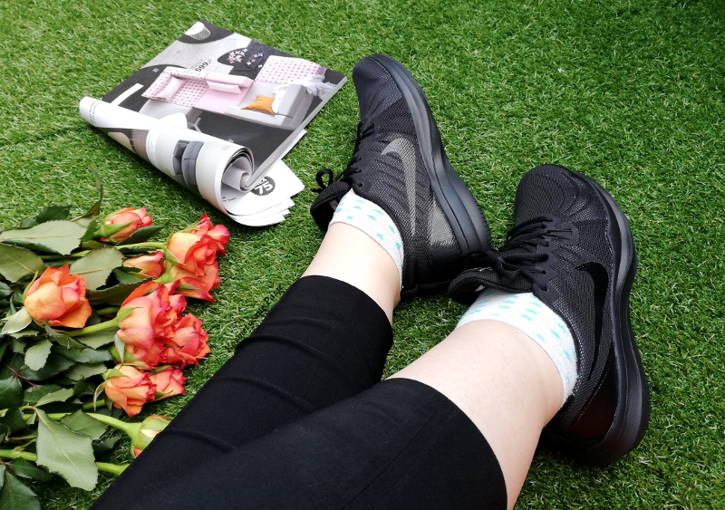 czarne buty nike damskie