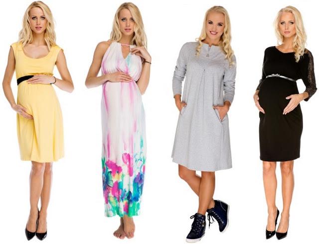 sukienki dla kobiet w ciąży, sukienki dla ciężarnych, odzież na lato dla kobiet w ciąży, letnie ubrania dla przyszłych mam