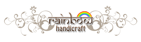 Rainbow handicraft