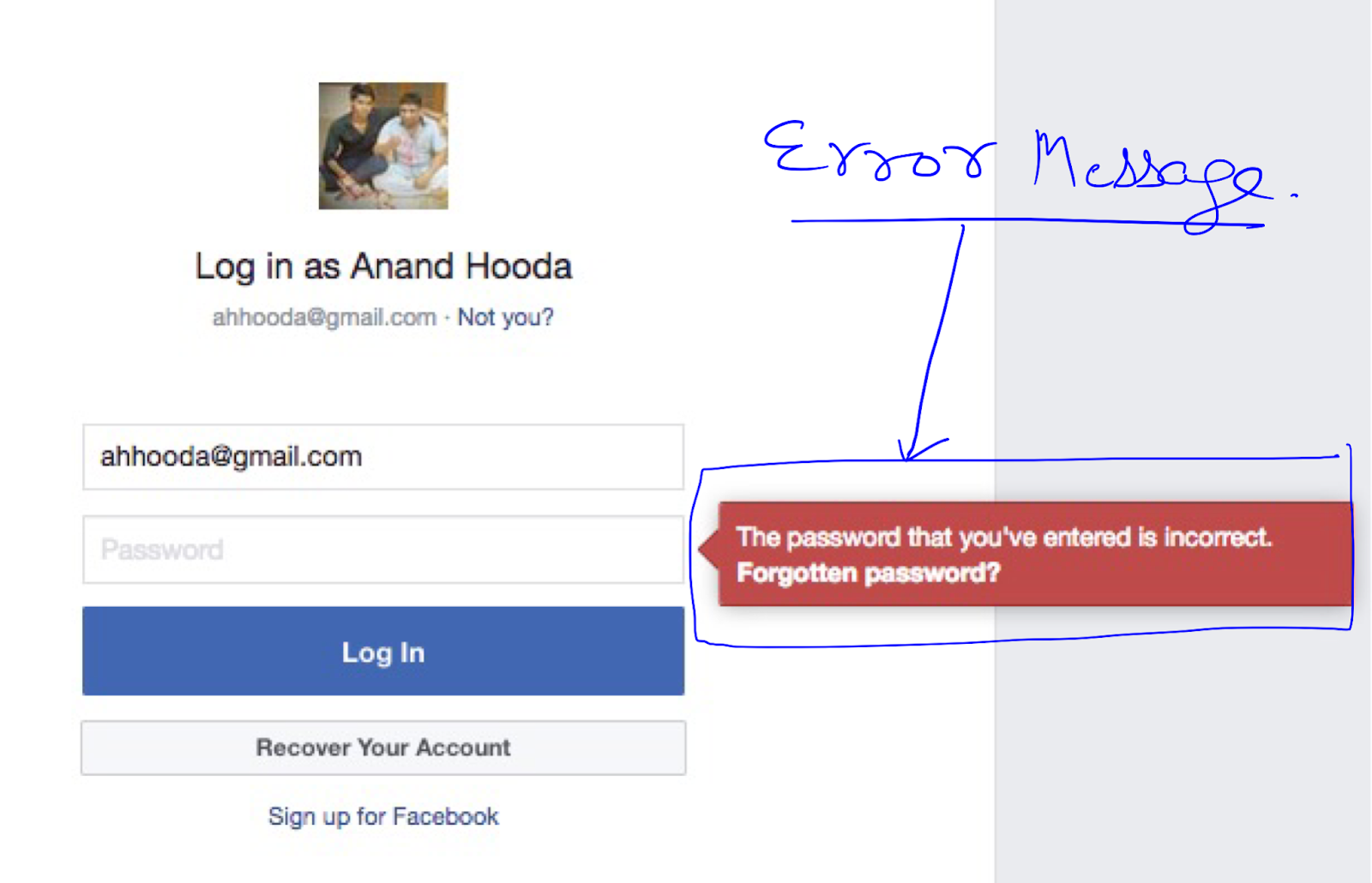 All Testing Stuff: Test Cases for Facebook Login Page