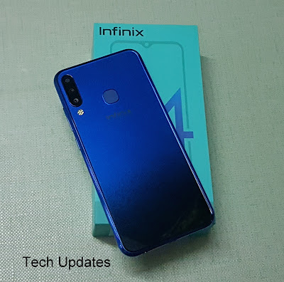 Infinix S4 Unboxing & Photo Gallery
