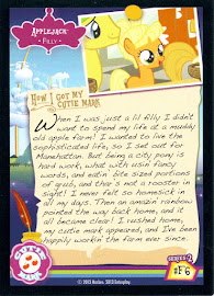 My Little Pony Applejack [Filly] Series 2 Trading Card