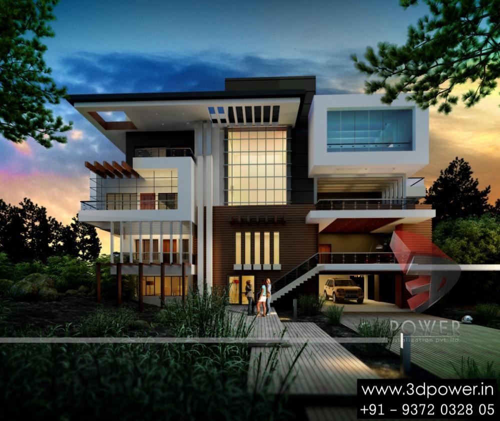 Ultra Modern Home Decor: Ultra-modern-home-design: 20 Bungalow Designs