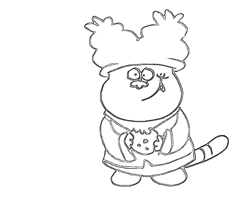 chowder coloring pages free | Chowder Chibi | Avondale Style