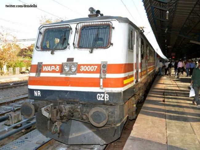 Поезда в Индии