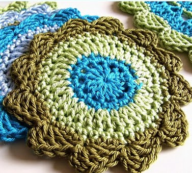free crochet patterns, coasters, how to crochet,