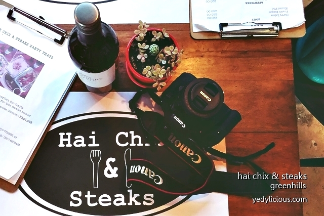 Hai Chix and Steaks Greenhills San Juan Ortigas Makati Blog Review Menu Best Steaks in Manila Best Hainanese Chicken in Manila Best Restaurants in Greenhills San Juan and Ortigas Website Contact No Facebook Instagram Twitter