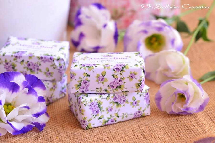 Detalles para bodas pack de jabon y balsamo
