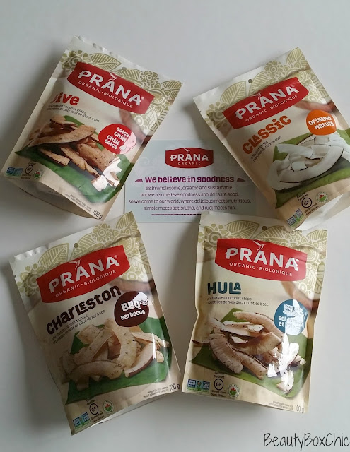 Introducting Prana New Organic Coconut Chips + Thoughts and First Impression