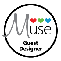 I was Guest Designer at The Muse Challenge :)