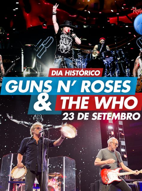 Guns N  Roses – Rock in Rio 2017