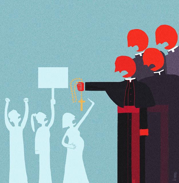 Illustration La Iglesia y las mujeres: la gran asignatura pendiente