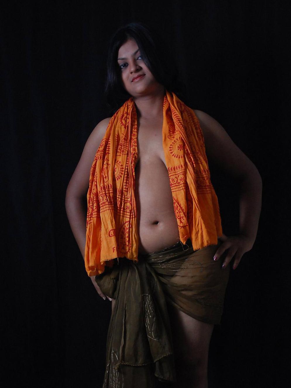 Super Girls 2014 Dusky Indian Model Art Nude Photos Hoot-8959