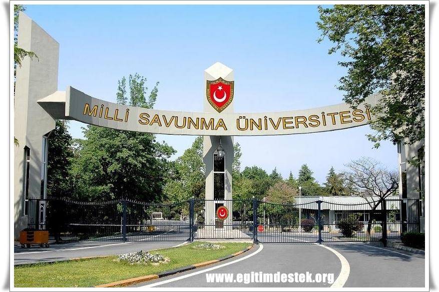 Milli Savunma Üniversitesi Harp Okulu Fiziki Yeterlilik Testi Tablosu