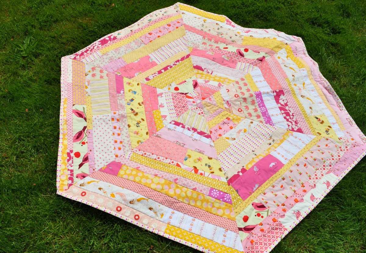 Wow! I finished a quilt!