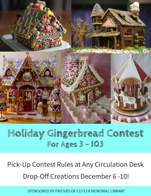 2016 Annual Gingerbread Contest Begins Soon