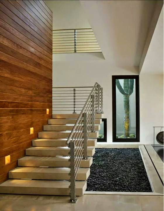 Modern staircase design for duplex apartments - Home Decor
