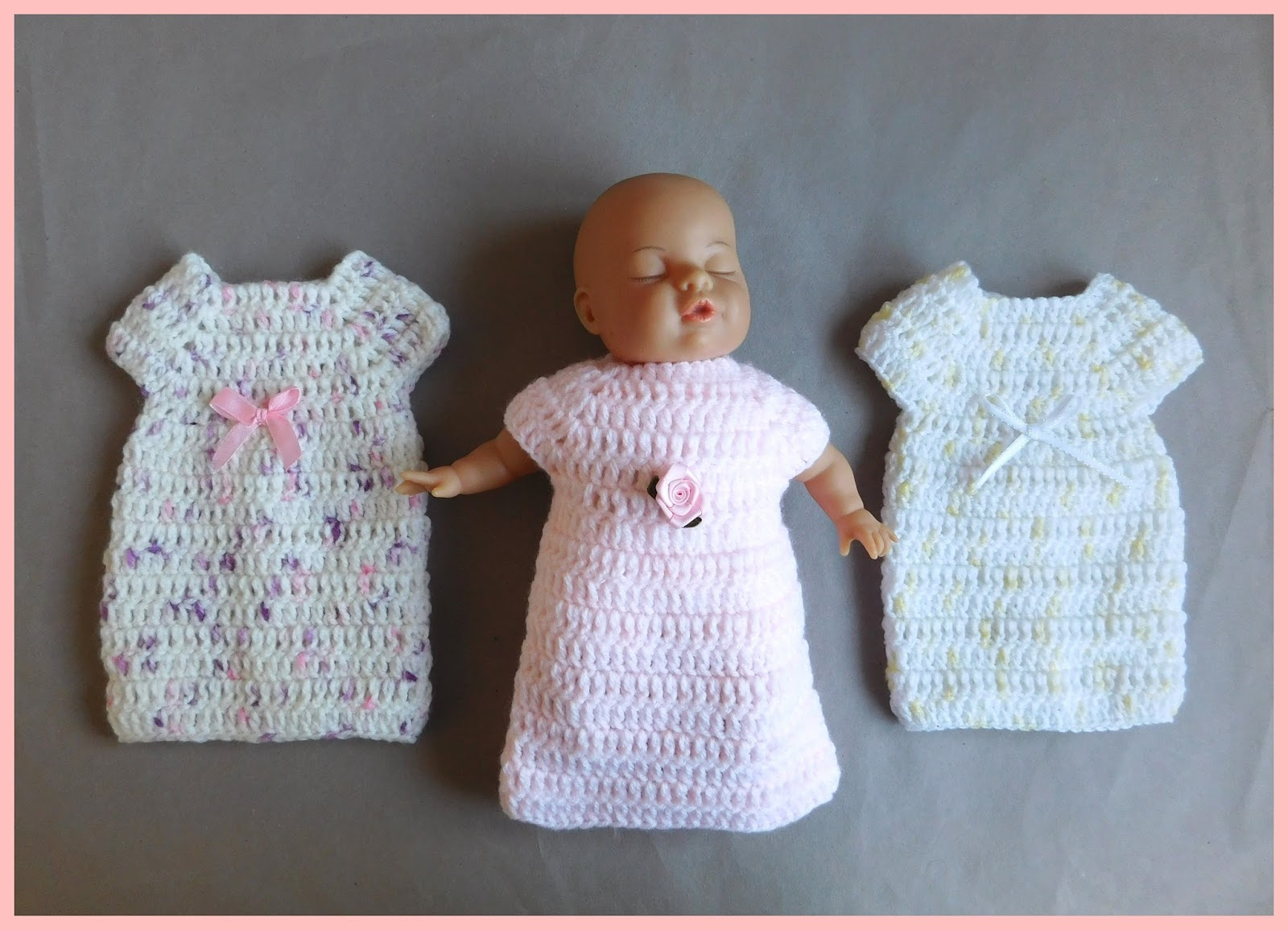 Marianna\'s Lazy Daisy Days: Stella - Crochet Angel Baby Gowns