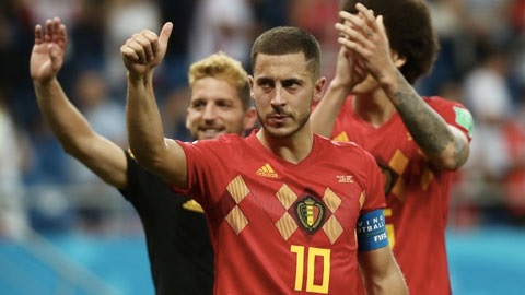 Hazard - tỏa sáng ở World Cup 2018