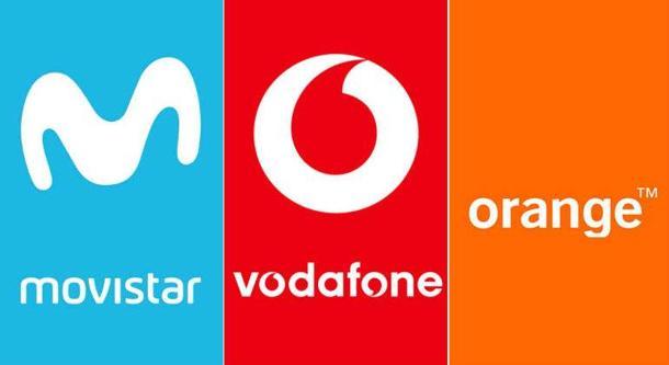 Cuota de clientes banda ancha móvil de los tres grandes operadores