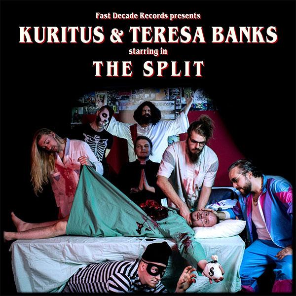 "Kuritus & Teresa Banks stream new split EP ""The Split"""