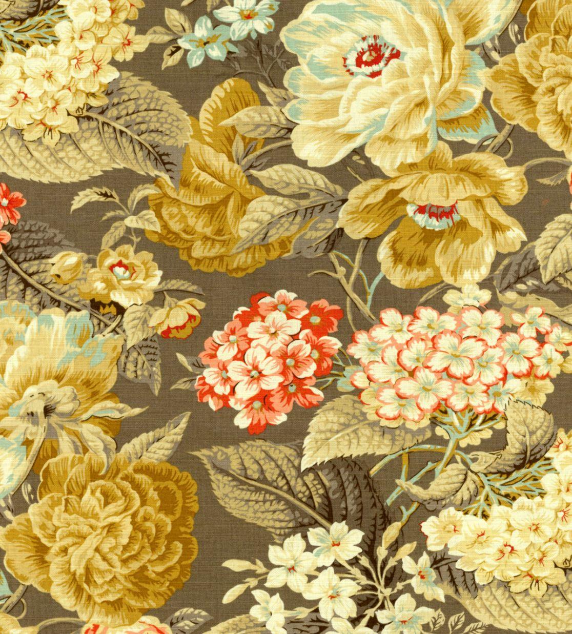 Waverly Wallpaper Floral Mega Wallpapers