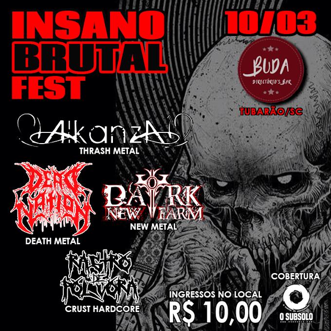 Cobertura #09: Insano Brutal Fest