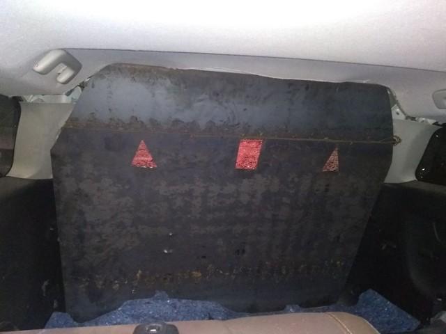 Dupla é presa com placas metálicas usadas em assaltos a carros-fortes no PI, CE e MA