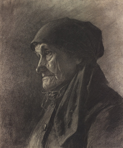Famous Artist Charcoal Drawings