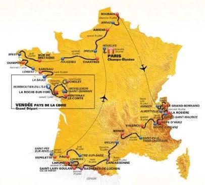 El Tour de Francia anuncia los equipos invitados en 2018