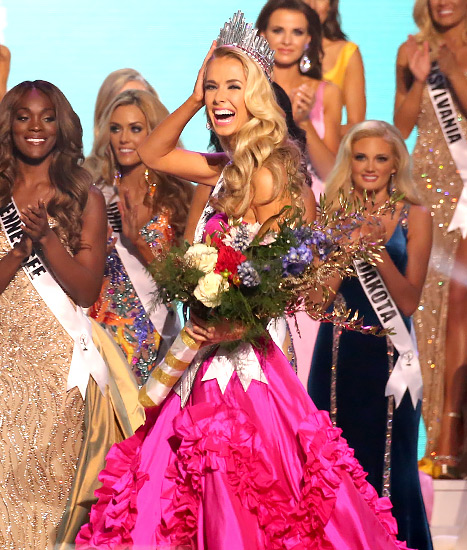 Olivia Jordan crowned Miss USA 2015