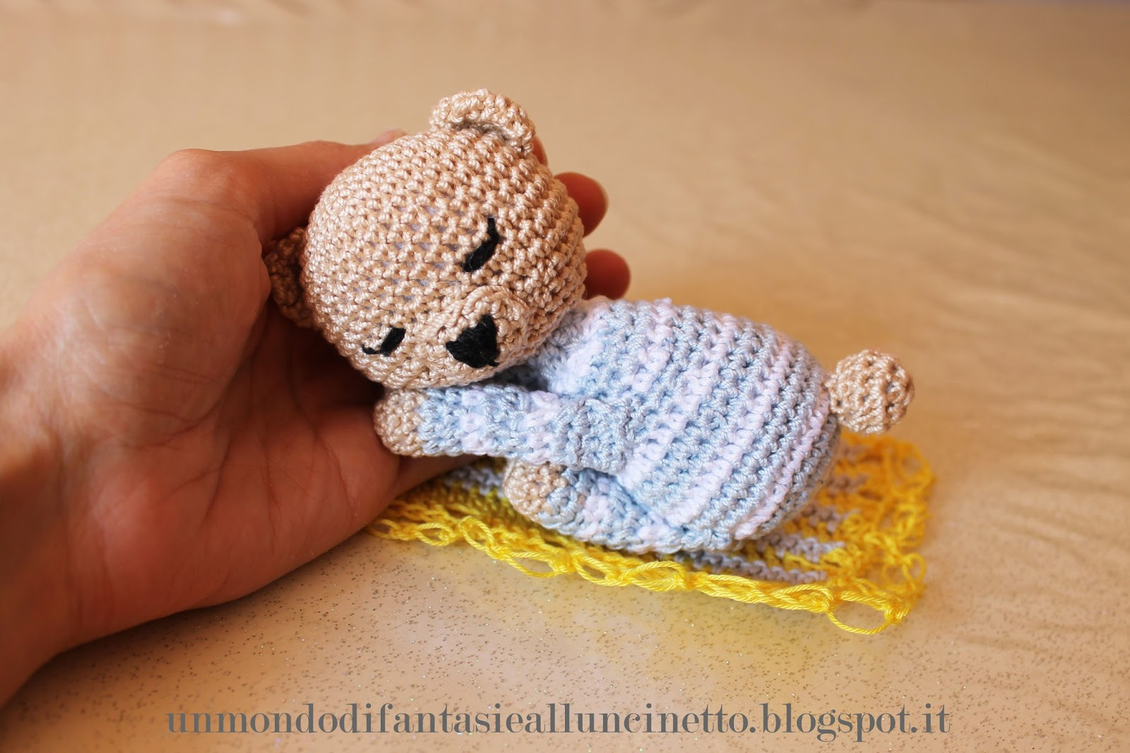 orsetti amigurumi all'uncinetto (parte 1/2) - YouTube | 1066x1600