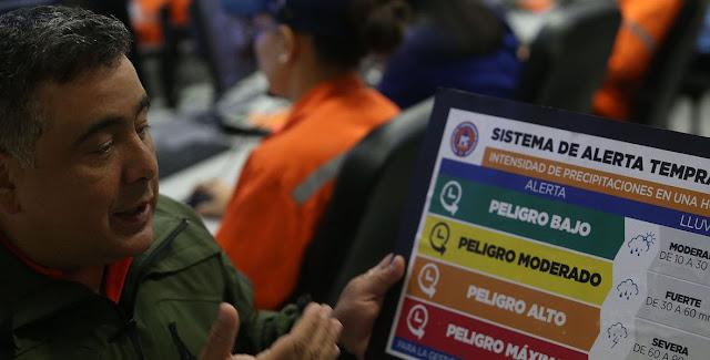 Tormenta Tropical Kirk genera alerta amarilla en los estados Sucre y Nueva Esparta