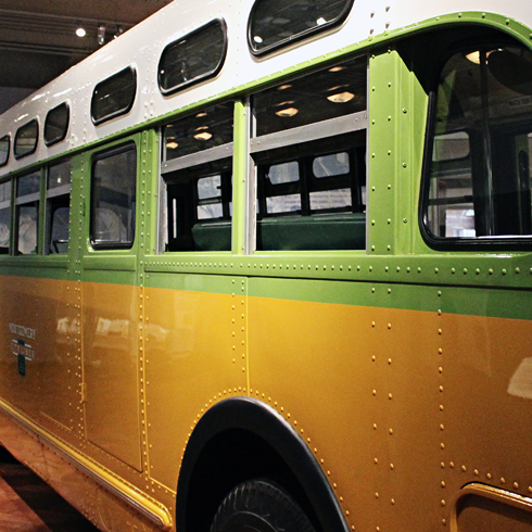 Rosa Parks Bus Henry Ford Museum