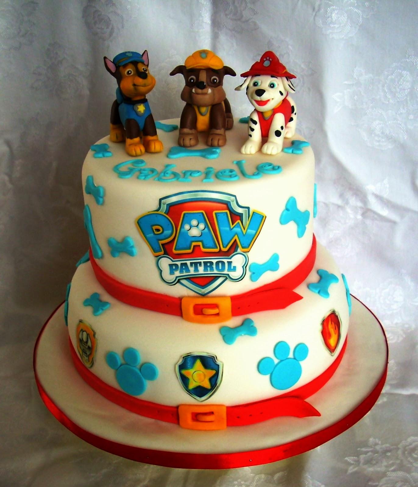 Amato Creattivamente: Paw Patrol cake: dolci cuccioli per il piccolo  UW59