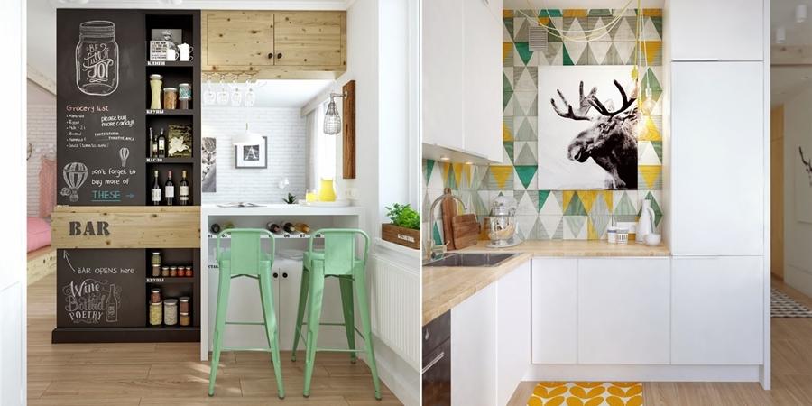 Mieszkanie w skandynawskim stylu z pastelowymi dodatkami, wystrój wnętrz, wnętrza, urządzanie domu, dekoracje wnętrz, aranżacja wnętrz, inspiracje wnętrz,interior design , dom i wnętrze, aranżacja mieszkania, modne wnętrza, styl skandynawski, scandinavian style, pastelowe kolory, małe wnętrza, kawalerka,
