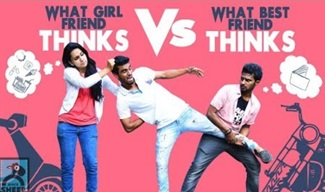 What Girl Friend Thinks Vs What Best Friend Thinks | Athu Ithu with Ayaz