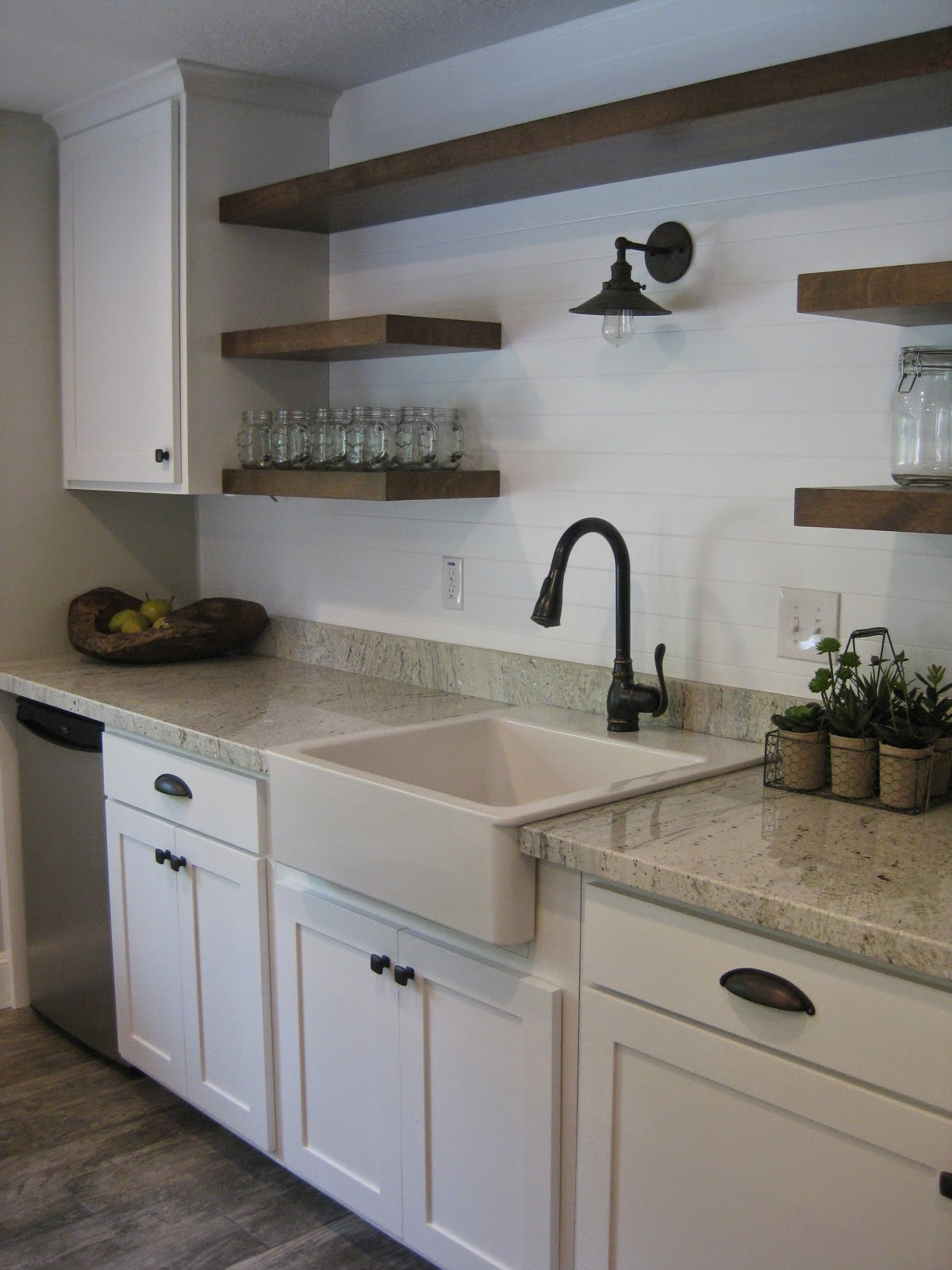 TDA Decorating And Design: Basement Kitchen Before & After